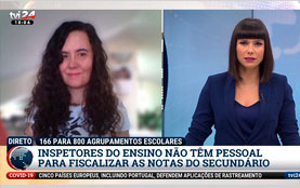 Entrevista Bercina Calçada – TVI24 – 26-05-2020